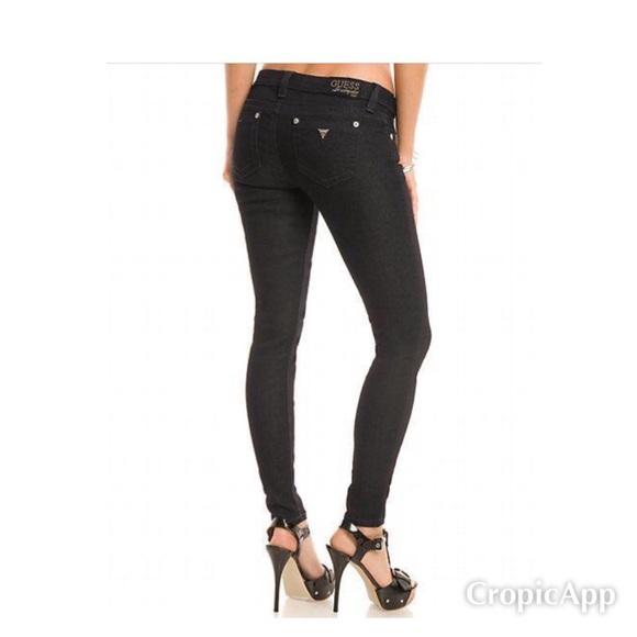 Guess Premium Black Power Skinny Jeans